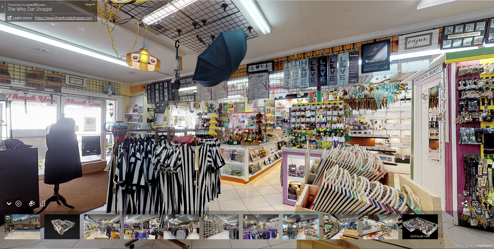 Customers can tour your business in FULL 3D!